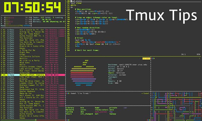 Introduction to Tmux #DevelopmentTools
