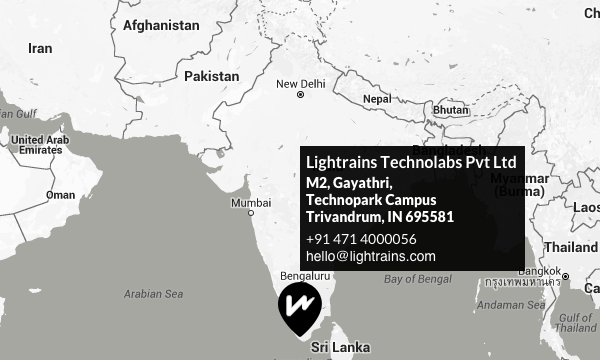 Lightrains Technolabs - Contact Us
